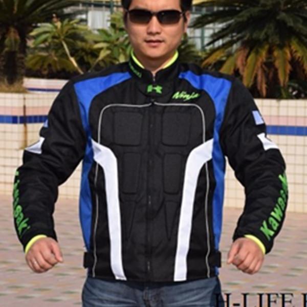 kawasaki jaqueta motos motorcycle jackets jacket men motocross clothing racing motocicleta Roupas andar de moto masculino S113(China (Mainland))