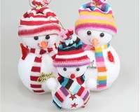 New style  Free shipping   3pcs lovely  Claus widgets  17*10cm  The Christmas tree ornaments  Christmas products