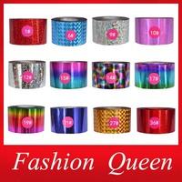 Nail Foils,4cmX120m,2 Rolls/lot Nail Transfer Foil Stickers,UV Gel Polish Nail Art Decorations,DIY Nail Beauty Supplies Tools