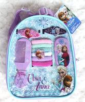 5 set backpack Cartoon Frozen girl Party Dress comb hairpin Hair Accessories