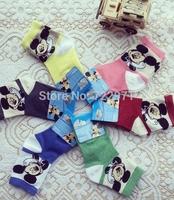 2014 new children's cartoon cotton  socks the Korean kids socks (2 -6) yrs old kid autumn winter  socks (4pairs/lot )
