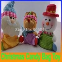 merry Christmas Ornaments Santa Claus Snowman Deer Rag Doll Toys enfeites de natal Decoration