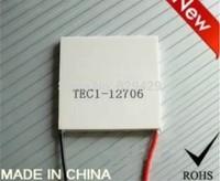 TEC1-12706 peltier cooler  Cooling chip 40 * 40 * 3.8mm12V6A semiconductor refrigeration tablets -20 degrees Celsius