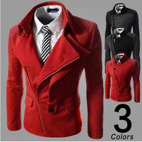 2014 Men's Wadded jacket outerwear winter design short cotton-padded jacket slim small cotton-padded jacket(no jackets women)
