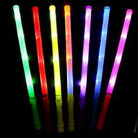 Wholesale 5pcs/lot concert flashing electronic rod 48 cm large christmas decoration flash lights colorful glow stick  M-01