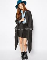 New Fashion Autumn Winter 100% Wool Women's Blue Fedora hats Floppy Trilby felted Sun hat Ladies Panama Cap Size 56-58CM