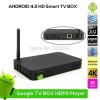 NEW ULTIMATE i6 1G/4G Smart ANDROID TV BOX XBMC Media Player MINI PC INTERNET STREAM Dual core 2*A9 CPU MaLi-400 GPU
