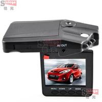 1set H198 Car DVR with 2.5 Inch 270 Degree Rotated Screen, 6 IR LED, HD 720P Night Vision Car Camera Camcorder Dash Cam