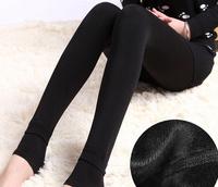 New Brand Women Girls Fashion ankle-length Legging Solid Black Velvet Knitted Thick Slim Leggings Pearl Velour Warm Legging