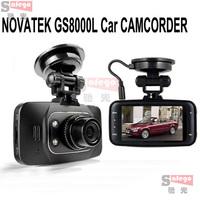 1 set 2014 New Car camera gs8000l Car dvr 2.7 Lcd 140 Degree Full HD 1920x1080 With G-Sensor HDMI support 32gb card