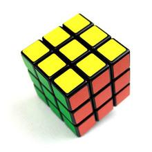 vendita calda us 3 x 3 x 3 plastica variopinta magic cube professionale classico puzzle cubo magico strumento educativo giocattolo - 0023 \ br(China (Mainland))