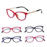 cute reading glasses brand anti-radiation anti-fatigue computer goggle radiation glasses women decorative glasses