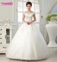 Slit neckline 2014 bag the bride wedding dress 2014 lace spring and summer