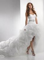 2014 wedding dress fashion new arrival married train wedding dress formal dress