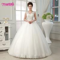 Slit neckline bag diamond decoration the bride wedding dress 2014 lace spring and summer wx-0507