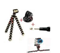 1 Set GoPro Accessories Mini Octopus Flexible Camera Tripod for Camera GoPro Hero 1 / 2 / 3 Free Shipping