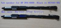 New  speaker for  HP DV6-6000  Black in   667693-001  Free shipping  wholesale laptop speaker