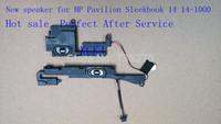 New  speaker for  HP Pavilion Sleekbook 14 14-1000 SBC3EU33TP1000BD451  Free shipping  wholesale laptop speaker