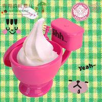 Fashion Closestool Mugs Novelty WC Toilet Cup Personality Plastic Mugs