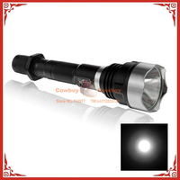 10pcs UltraFire MCU WF-1200L SSC P7 Outdoor Waterproof LED Flashlight with Assault Crown