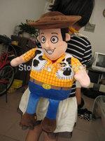 50pcs  Toy Story Woody Plush Backpack Kid Plush bag new arrival