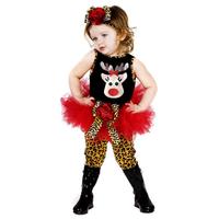 2014 Christmas new wild girls clothing set/Tutu dress+leopard pants+hair band/Fashion kids new year clothing set