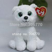 "IN HAND! NEW TY BEANIES BABIES 2012 ORIGINAL PLUSH  ~Igloo Polar Bear~ 6"" 15CM plush big eyes doll Stuffed TOY"