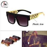 2014 Kim Kardashian Beyonce Celebrities Stylish Sunglasses Men Women Glasses oculos de sol Plastic Arm Relax Eye ZT9941