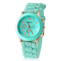 Women's Watch Fashion Silicone Strap W1