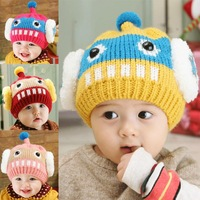 Hot Seal Baby Beanie Robot Fashion 5 Colors All For Kids Clothes And Accessories Baby Winter Beanies Child Hap Cap Fotografia
