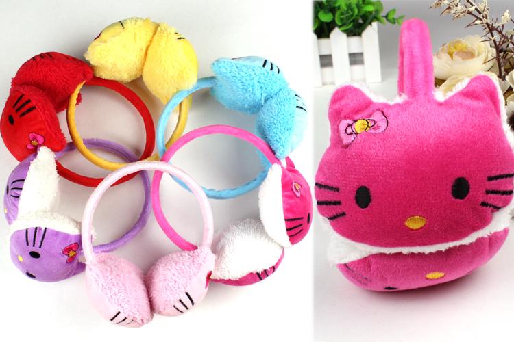 Kitty earmuff, cartoon cat earmuff, winter earmuff, winter ear warm earcap(China (Mainland))