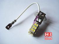 2 x H3 28SMD led white fog lights, 360 degree lighting fog lamps, free shipping