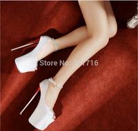 Free shipping ! Wholesale! The new 2014 20 cm women fish mouth high-heeled shoes, women pole dancing shoes,women pumps