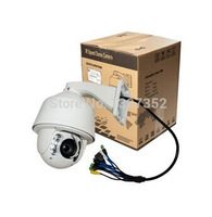 8g Memory Card Hikvision Module New Products 1080P 2M 20X Optical Zoom infrared Auto Tracking PTZ IP Camera