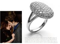 High quality Twilight Bella alloy diamond ring 10pcs