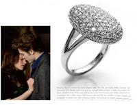 Good quality Twilight Bella alloy diamond ring 120pcs
