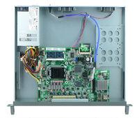 B75 chipset LGA1155 network security with SFP port 1U rackmountable hardware for firewall, VPN, router, etc 6 LAN