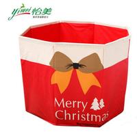 Free shipping Christmas tree Christmas Socks woven storage base