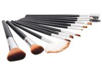 Real Techniques Quality Professional Makeup Brushes Sets soft Hair wood Foundation eyeliner brushes kit + tiger skin purse bag