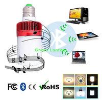 smartphone music bluetooth speaker with led light  BB speaker 2 in 1