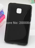 1x for Optimus L3 II E430 L3X phone cases tpu gel case skin cover capa carcasa funda housse coque Custodia kryty Frontje estuch