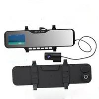 Ultra-thin car dvr camera recorder detector 2.7 inch mini camcorders mirrors tachograph / HD  Car Rearview Mirror