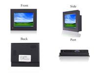 6.5 inch Semi-rugged  Industrial computer monitor   Flat Touch Monitor  Small industrial-grade computer monitor