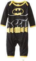 Long Sleeve  Superman Batman  Cotton Romper  Baby One-Piece Tuxedo Rompers  CDM-274C