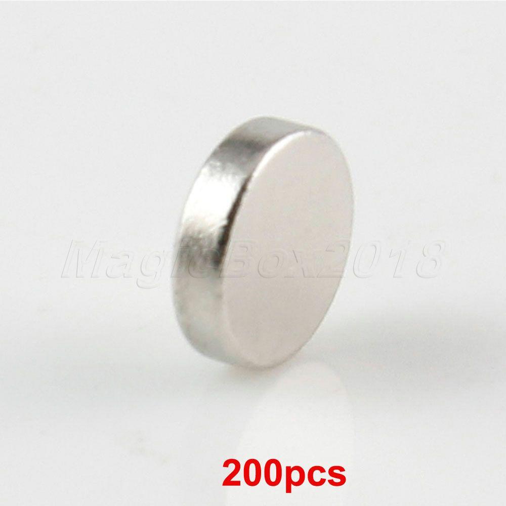 Good Quality 200PCS/LOT Mini Disc 6x1mm Rare Earth Super Strong Round Magnet Neo Neodymium Bulk Free Shipping(China (Mainland))