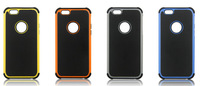 """3 In 1 Silicone + PC + TPU triple Combo Football pattern phone shell For iphone 6 4.7"""" back cover for iphone6 mobile phone Case"""