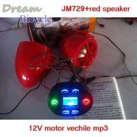 12V Motorcycle motor bike Audio motor vehicle mp3 player FM radio with LCD display
