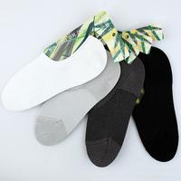 2014 Bamboo Fiber Summer Invisible Men's Boat Socks 5 pairs/lot