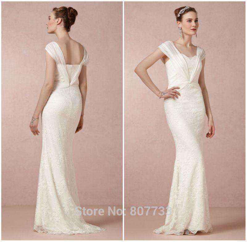 Vintage Wedding Dresses Casual :
