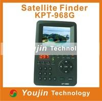 KPT-968G satellite finder DVBS2 MPEG4 signal 3.5Inch TFT LED Handheld Multifunctional HD Satellite Finder meter